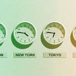 米国時間が並んだExcelのリストを日本時間に直すには